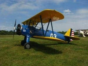 Stearman World War II, Training Airplane
