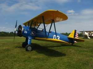 Stearman World War II, Training Airplane