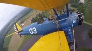 Al Tucker Jr. Takes Controls of Stearman